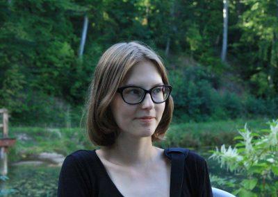 Ada Ślęzak - wolontariuszka