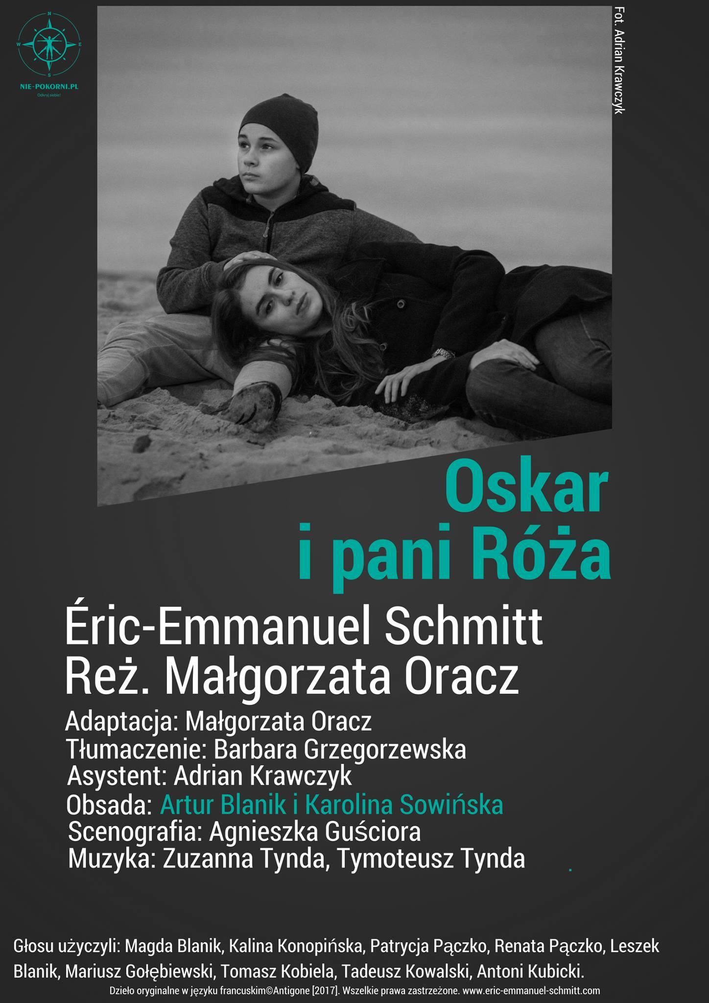 Oskar i pani Róża, reż. Małgorzata Oracz