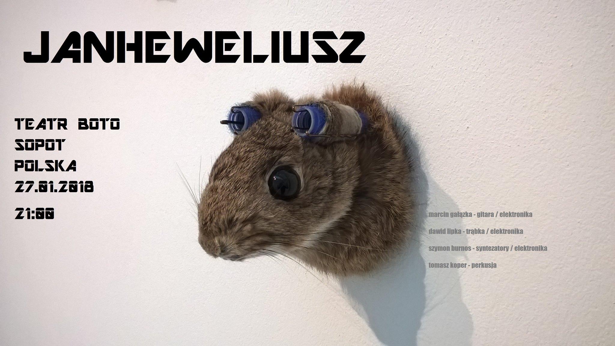 Janheweliusz // koncert