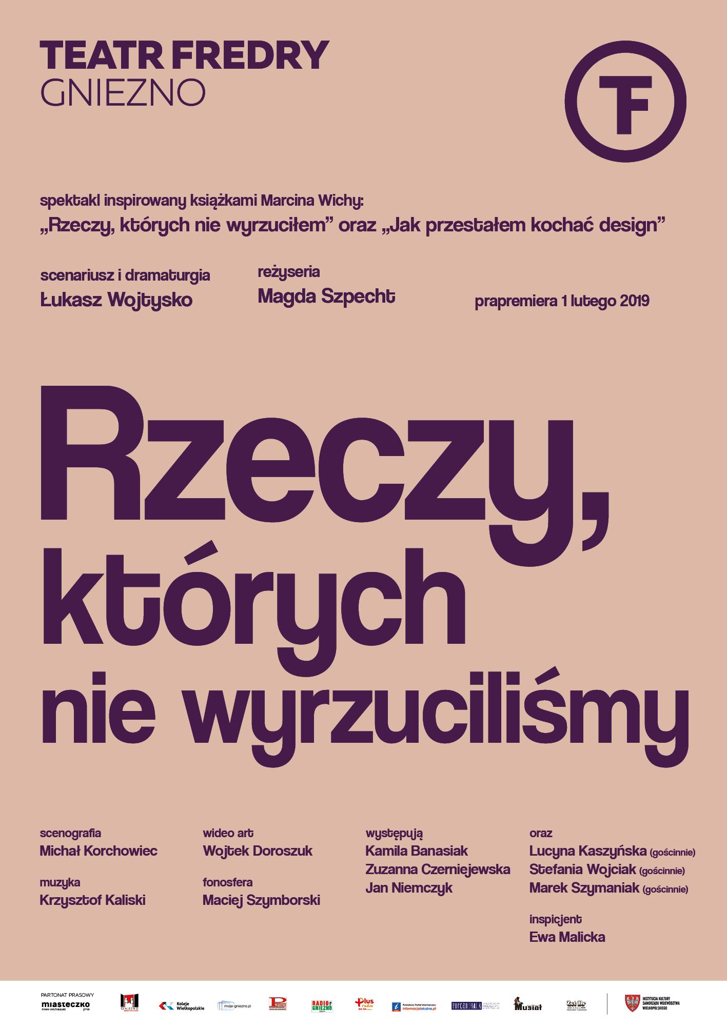 Rzeczy, których nie wyrzuciliśmy, reż. Magda Szpecht / SNF 2019