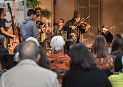Tomasz Chyła Quintet w ogródku (31.07.2019)