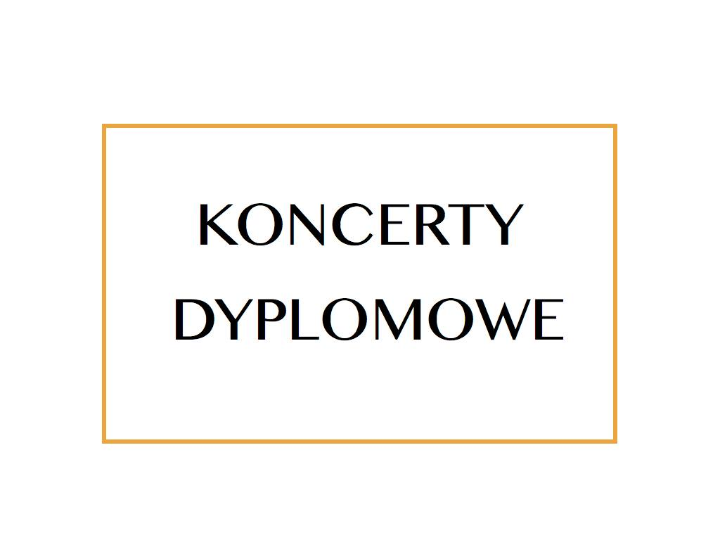 Koncerty dyplomowe: Szymon Zawodny | Michał Sasinowski