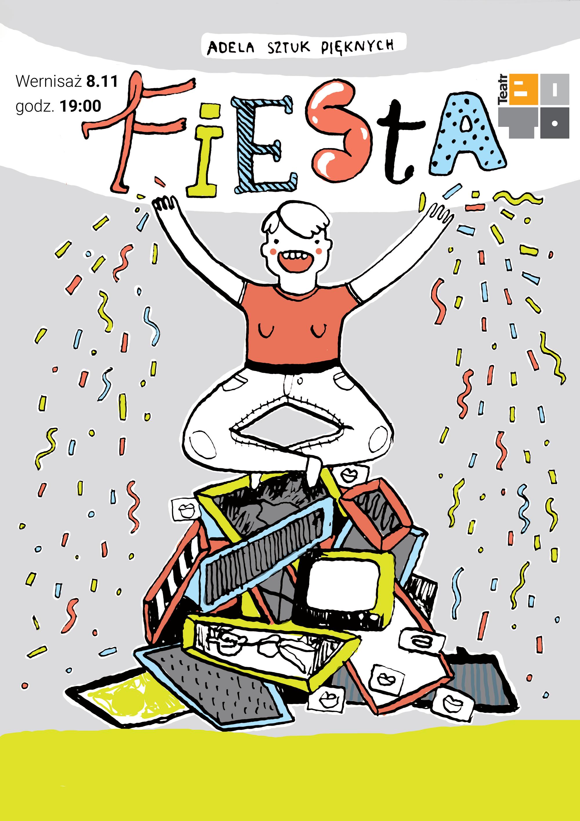 Adela Sztuk Pięknych – Fiesta / wernisaż wystawy
