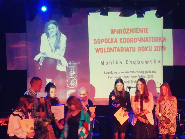Gala Sopockiego Wolontariatu – wyróżnienie