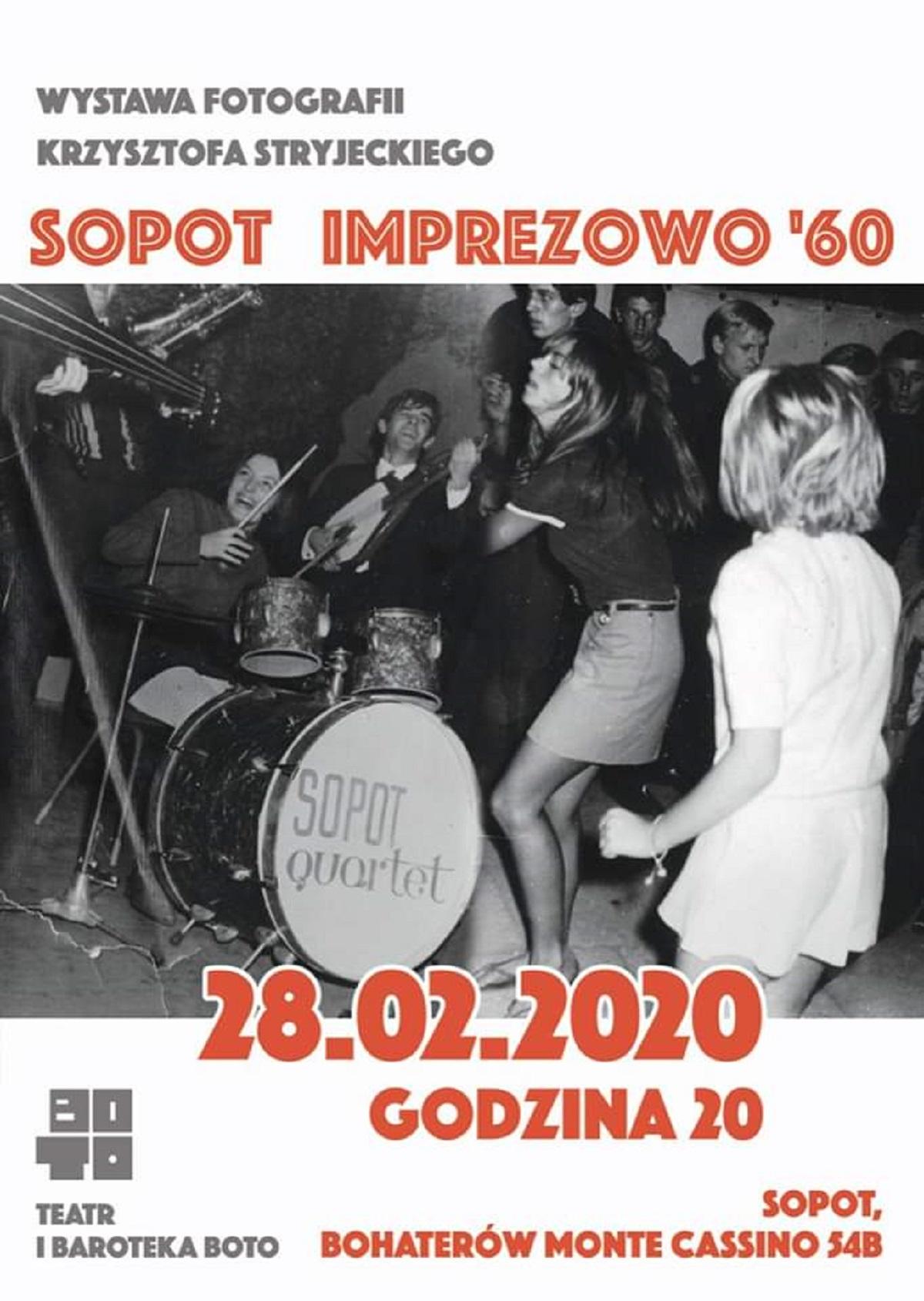 SOPOT Imprezowo '60 – wystawa fotografii Krzysztofa Stryjeckiego