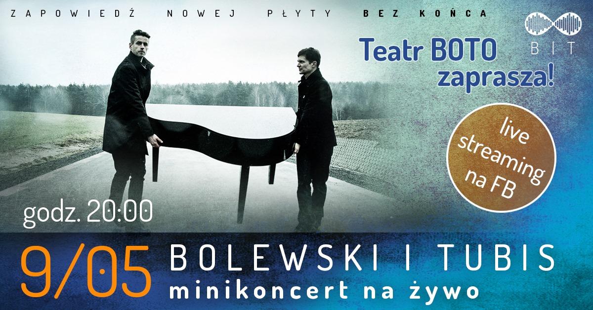Bolewski & Tubis – on-line koncert
