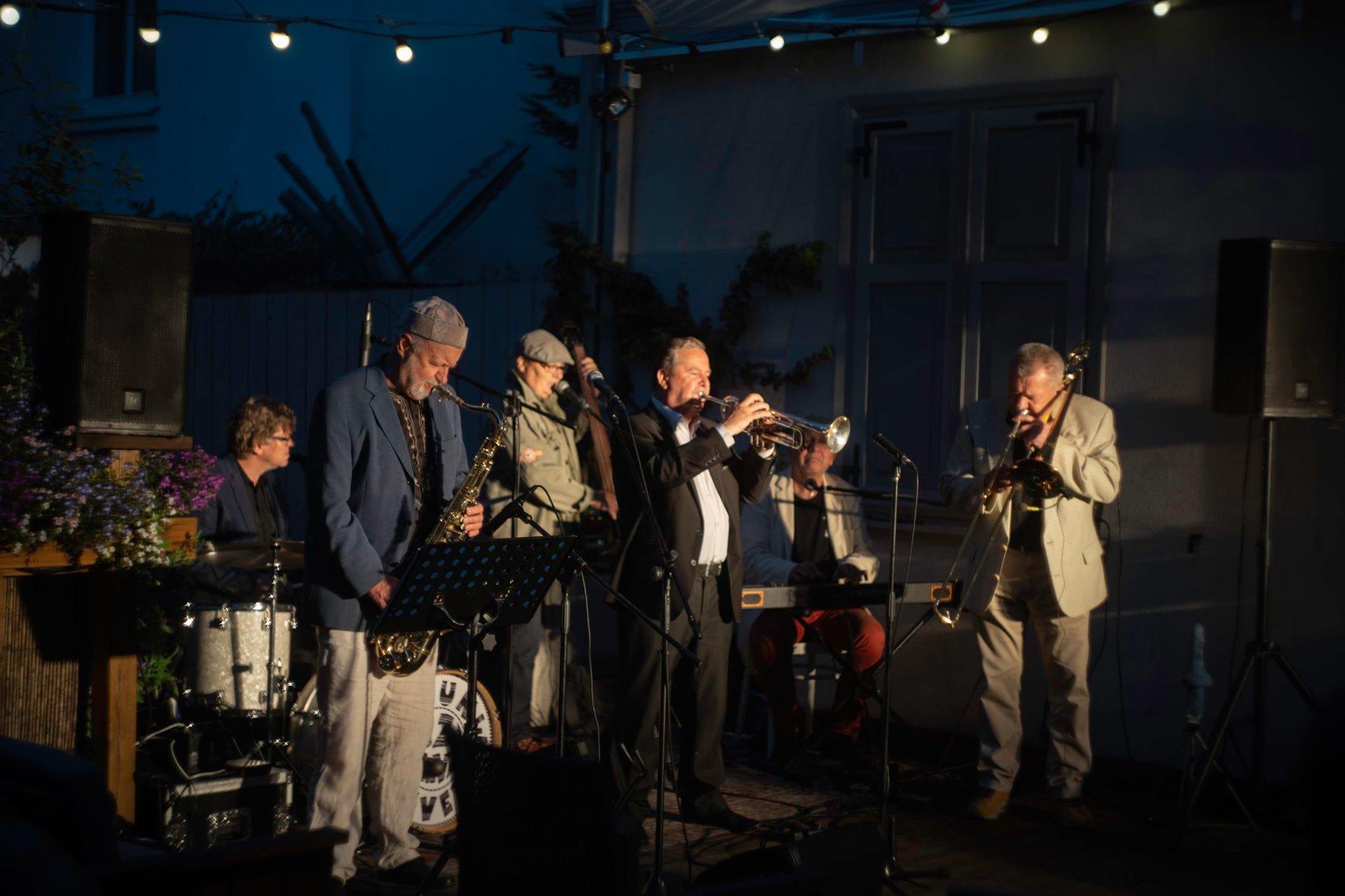 Radunia River Jazz Band w BOTO ogródku