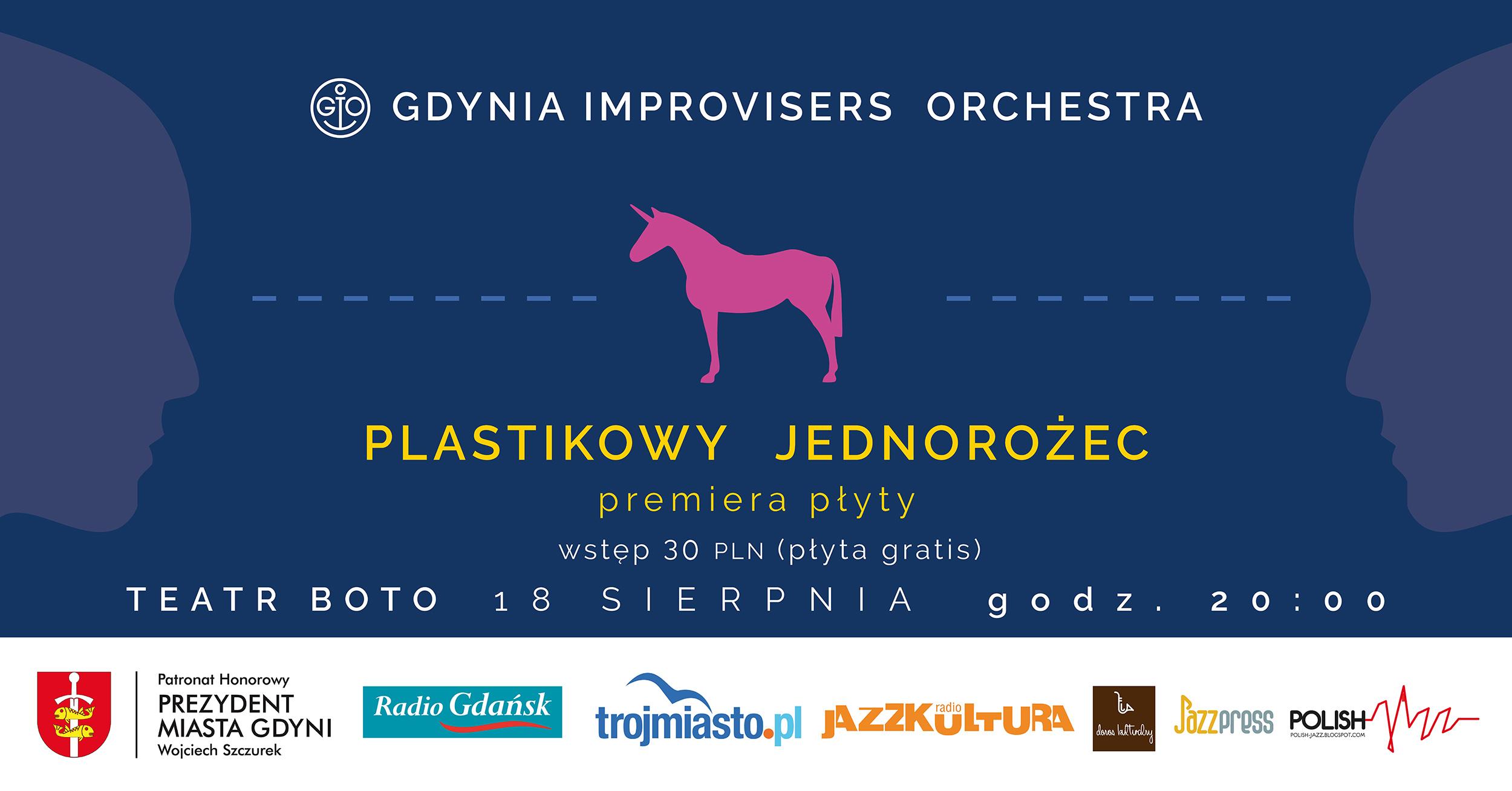 GDYNIA IMPROVISERS ORCHESTRA w BOTO ogródku (premiera płyty)