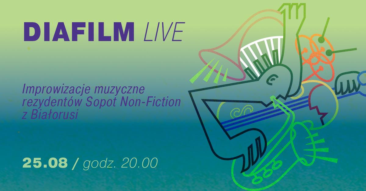 Sopot Non – fiction 2021: Improwizacje muzyczne grupy DIAFILM LIVE